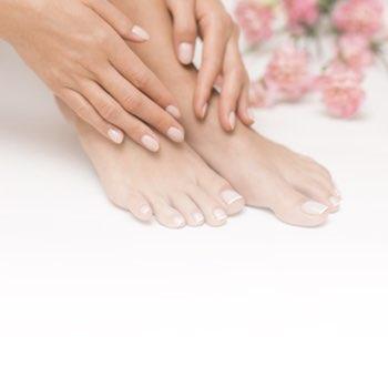 Dłonie, stopy, kosmetyka